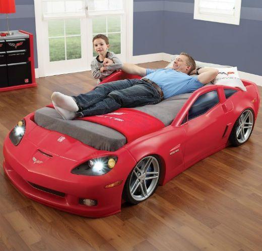 3 2 1 partez des lits voiture pour gar ons lit voiture garcon lit voiture et lits. Black Bedroom Furniture Sets. Home Design Ideas