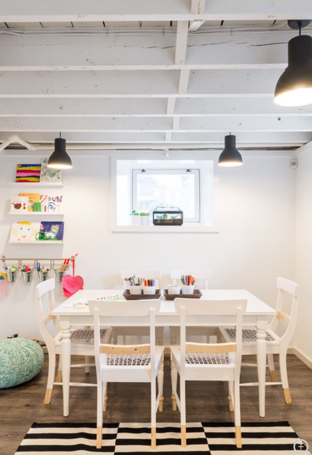 Pin By Tina Doepker On For The Home In 2019 Low Ceiling Basement Kids Basement Basement Lighting
