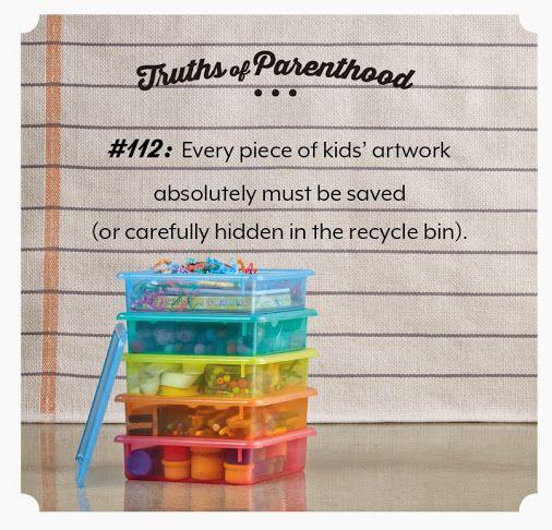 Truths Of Parenthood #112. So True!