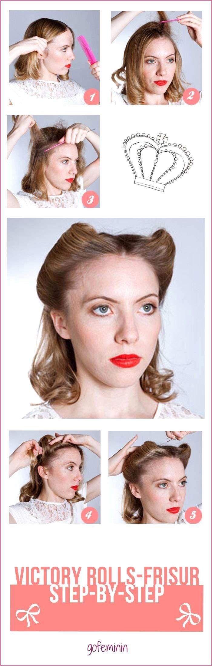 Haarband Frisuren Offen Festlichekurzhaarfrisuren Frisuren Haarband Offen In 2020 Hairband Hairstyle Hair Styles Roll Hairstyle