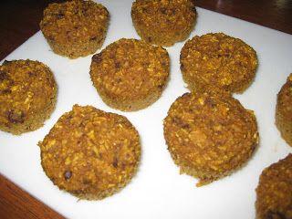 Clean eating pumpkin banana muffins