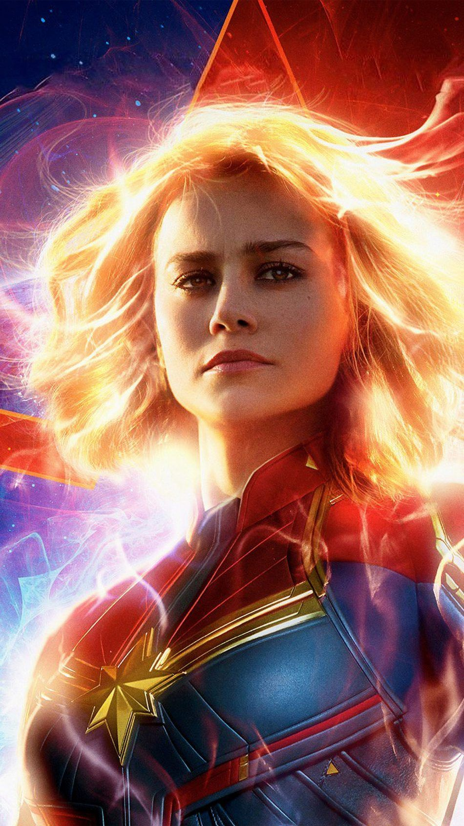 Brie Larson In As Captain Marvel 2019 Movie Wallpapers Captain