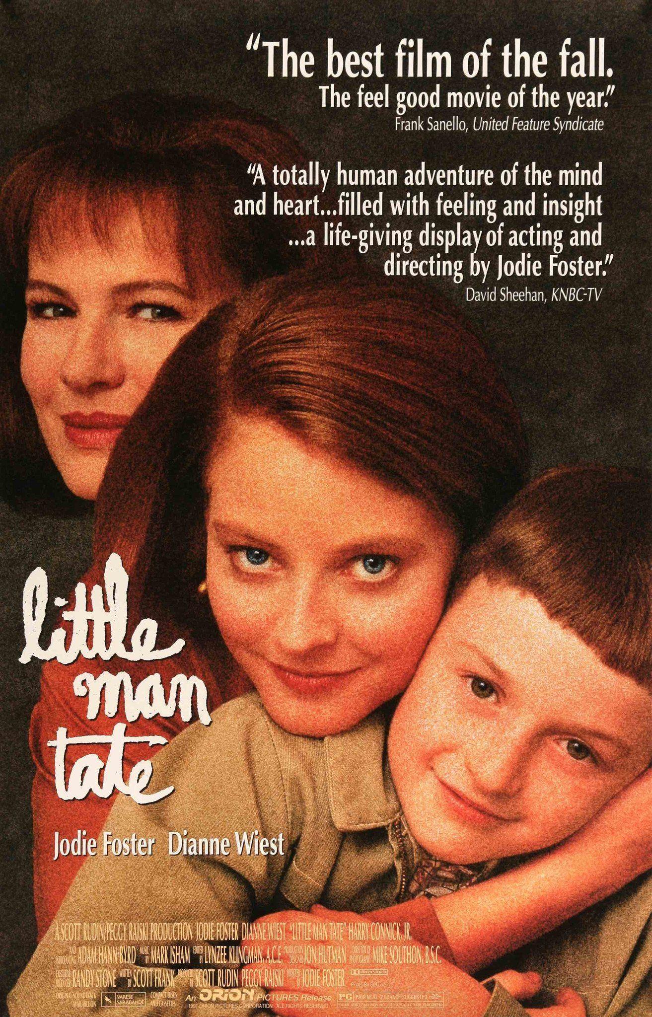 Little man tate 1991 in 2021 jodie foster movie