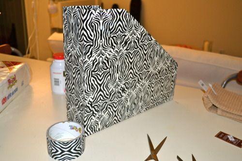 Diy 12x12 Paper Containers From Cardboard Box S Izobrazheniyami Komnata Dlya Remesla Remesla