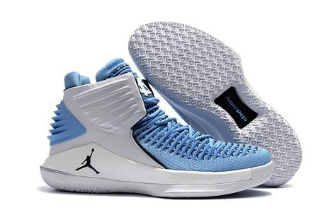 half off ec26e 53a3e Basketball To Buy Product. 2017 Air Jordan 32 UNC Tar Heels PE White and  Carolina Blue