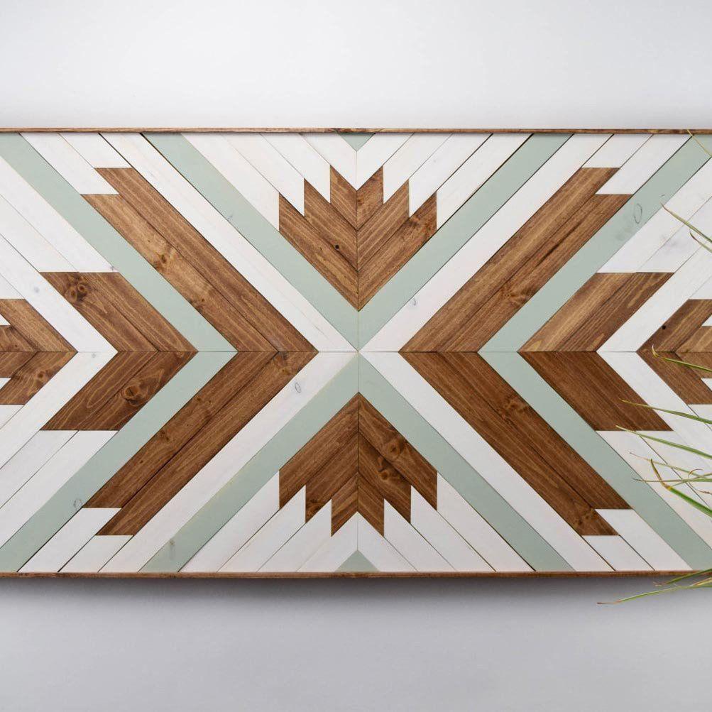 Modern Wooden Wall Art