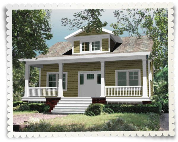 Home Patterns Crafted Simplicity Bungalow House Plans House Plans Farmhouse Cottage Style House Plans