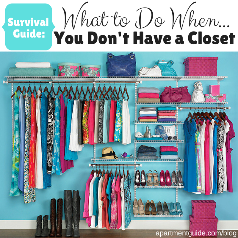 If The Closet In Your Bedroom Is Nonexistent Take A Look At This Survival Guide For Helping You Belongings