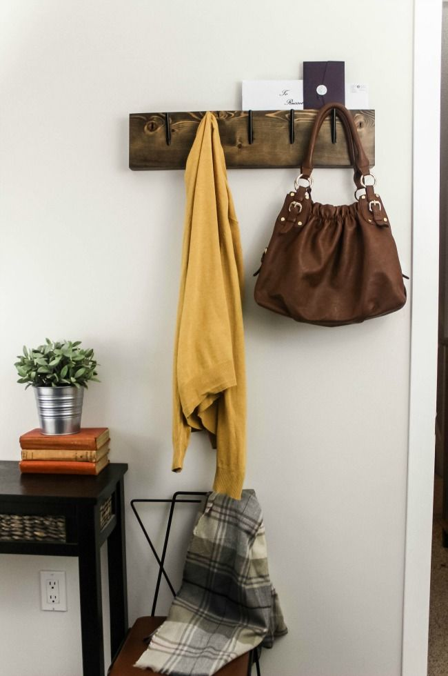Industrial Chic Coat Rack Love Create Celebrate Pinterest Best How To Make Your Own Coat Rack