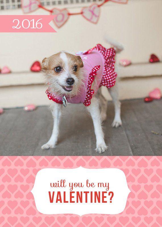 Valentine Pet Adoption Template - Valentine Card - Pet Rescue