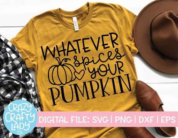 Whatever Spices Your Pumpkin SVG, Funny Fall Cut File, Women's, Sarcastic Halloween Saying, Thanksgiving Quote dxf eps png Silhouette Cricut