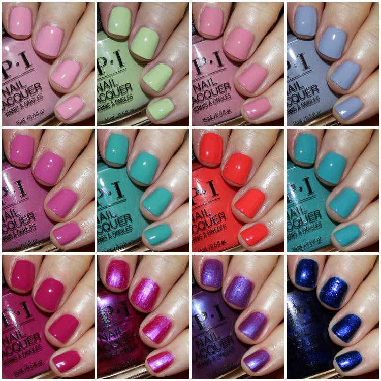 Opi Tokyo Spring 2019 Collection Opi Nail Colors Spring Nail Polish Colors Spring Nail Polish