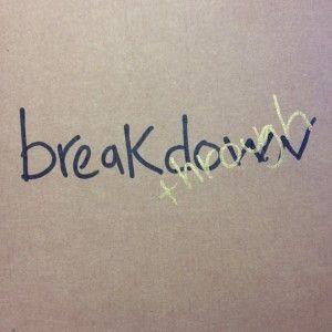 take a break - have a breakthrough