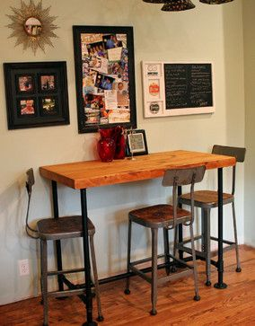 2013 Kitchen Shelving and Table - Industrial - Kitchen - Other - by Oliver Construction LLC