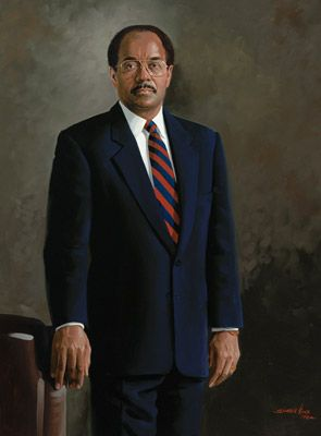 R.I.P. William Herbert Gray III (August 20, 1941 – July 1, 2013). He was an American politician, member of the Democratic Party for PA's 2nd congressional district, Chairman of the House Committee on the Budget, House Majority Whip, President & CEO of the United Negro College Fund, Co-founder of Gray Loeffler LLC, and pastor the Bright Hope Church in Phila for many years. He was a great man and a true-blue son of Philly who will be greatly missed!