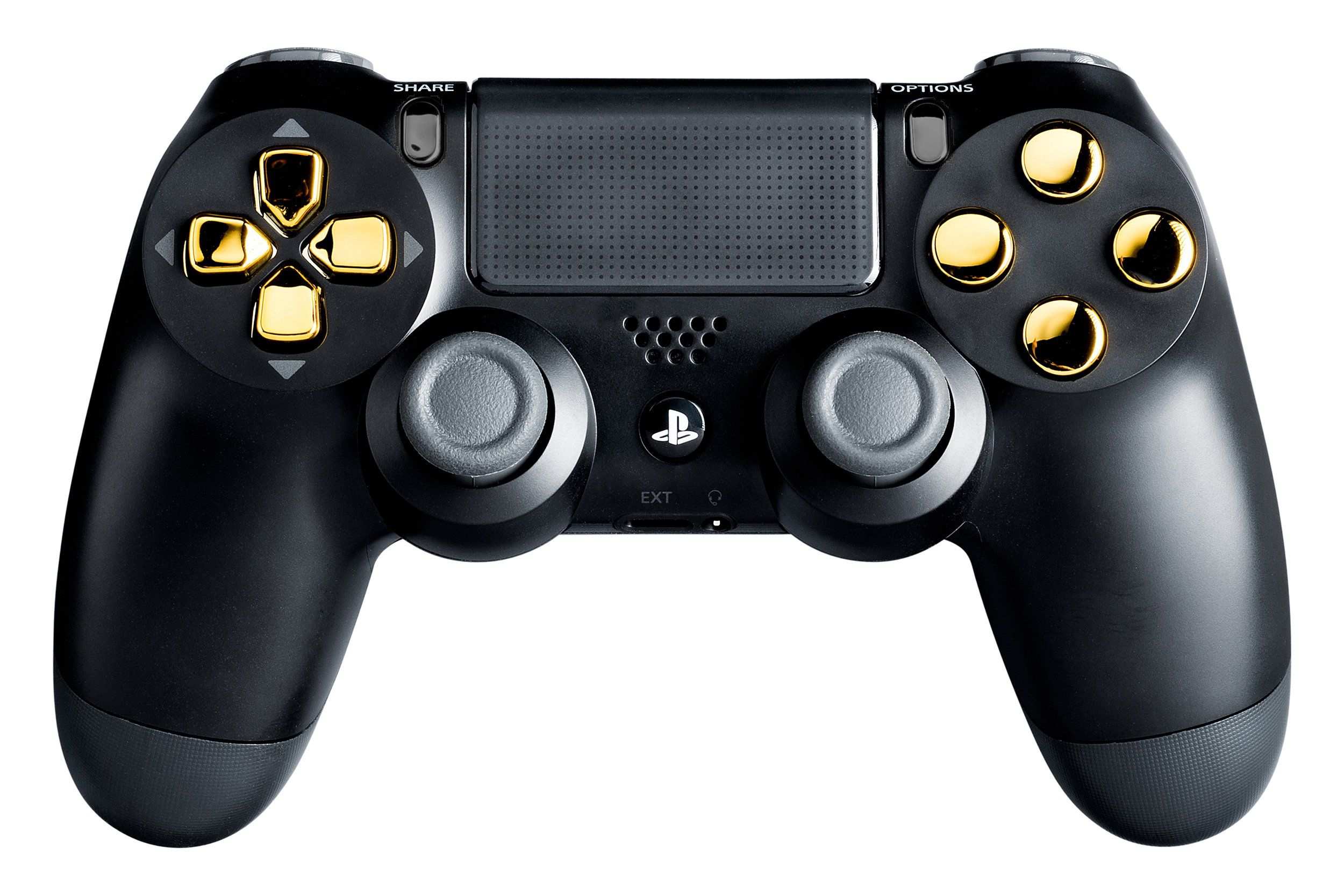 PS4 Modded Controller Gold Chrome Playstation 4 Master Mod