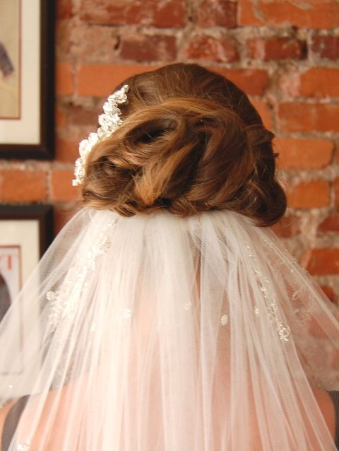 hair styles for wedding bridal updo with veil hair by beautiful brides philly 6664