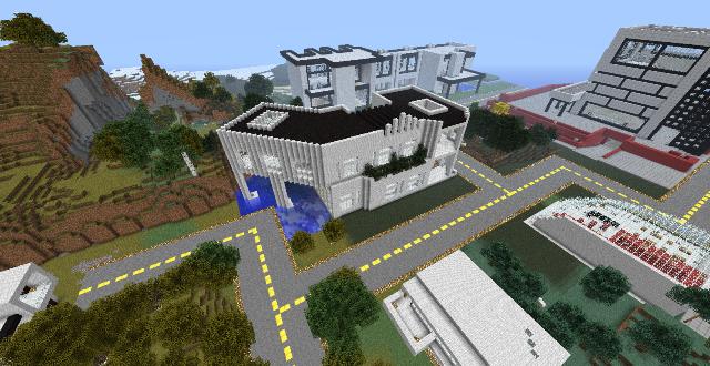 Ultra Modern City Map 1710172 and 164 Minecraft Maps