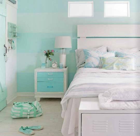 10 colores para hacer que los espacios parezcan más grandes Verde - decoracion recamara vintage