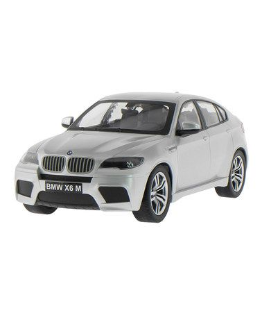 Take a look at this Silver Remote Control BMW X6M by CIS Associates on #zulily today!