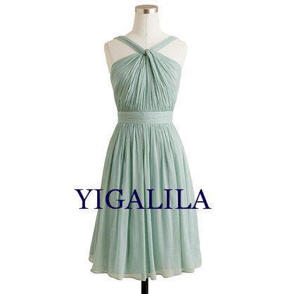 Lady dress/bridesmaid dress/wedding dress/halter by YIGALILA, $58.00 ...