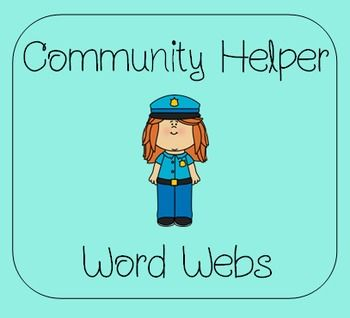 Enjoy these FREE Community Helper Word Webs!  Thank you so much to everyone who has purchased products from me.  I will keep the freebies coming, too!Here's what's included:-Police Officer-Teacher-Baker-Farmer-Librarian