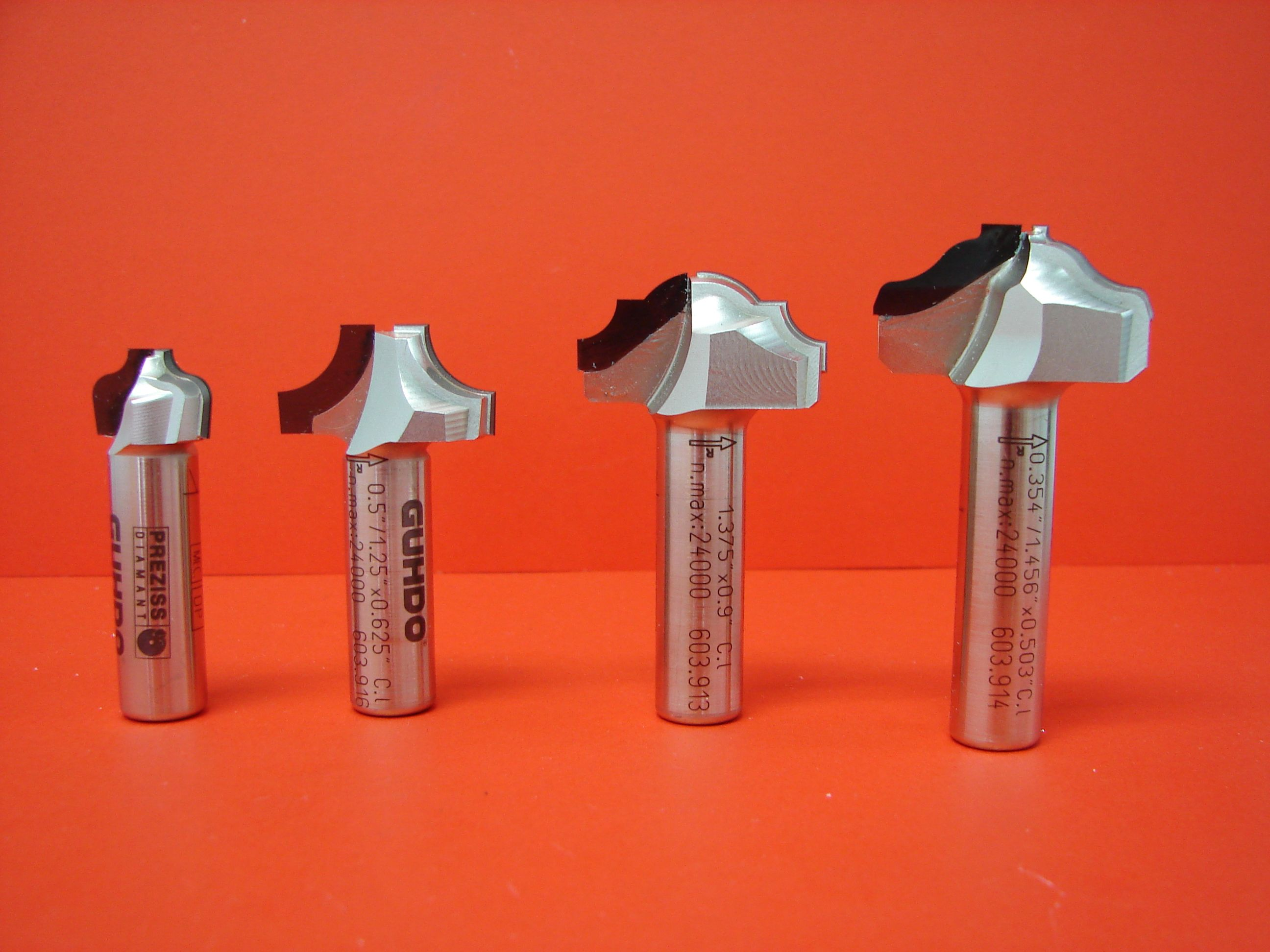 A Selection Of Pcd Diamond Tools For Cabinet Door Profiles Http