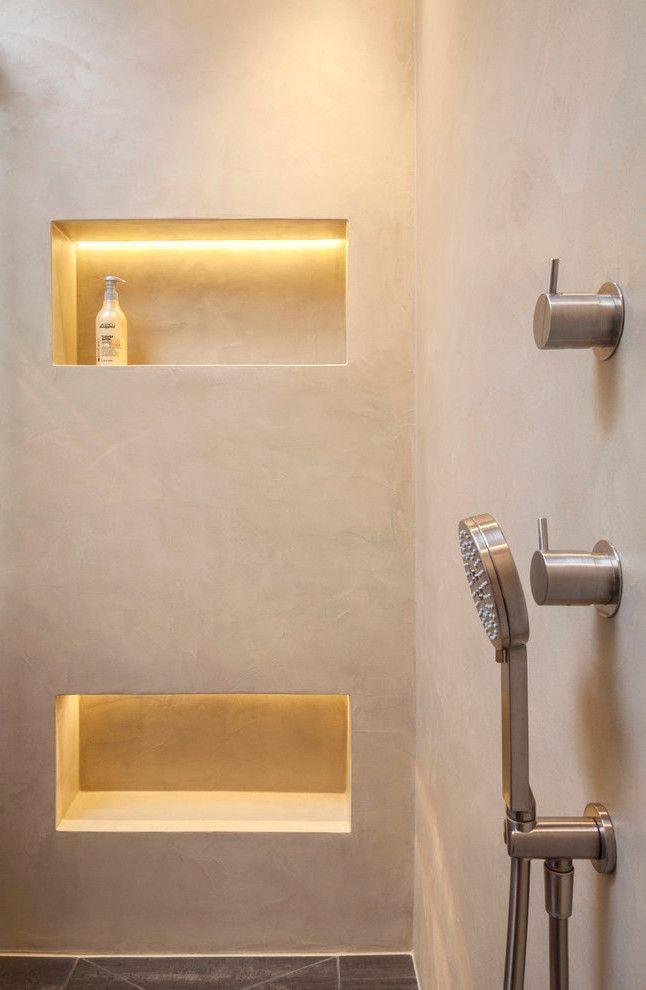 Ein Fugenloses Bad Gibt Ihrer Wohnung Den Letzten Schliff Bath - Renovierung dusche ohne fliesen