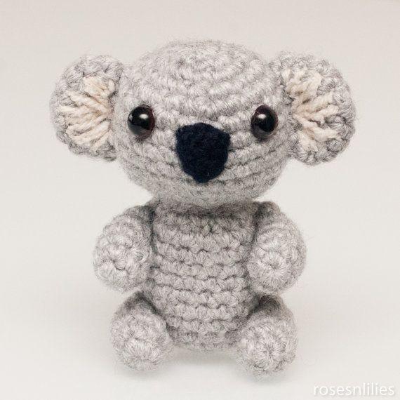 Amigurumi Koala Bear In 3 Sizes Crochet Pattern Pdf Amigurumi