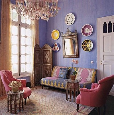 Love lilac walls For the Home Pinterest Lilac walls, Moroccan