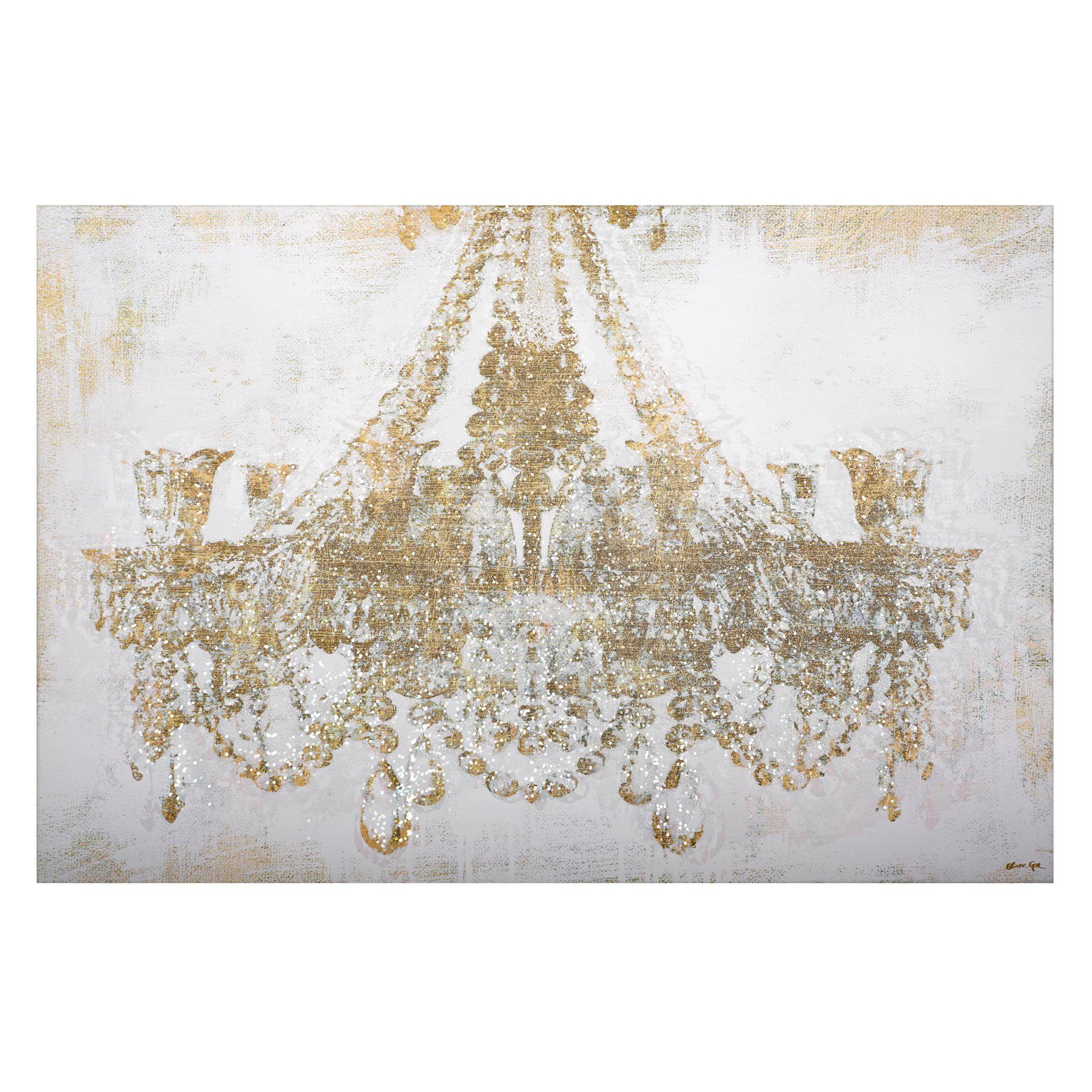 Chandelier Diamond Dust All Art Art Z Gallerie Oliver Gal Bildideen Leinwand