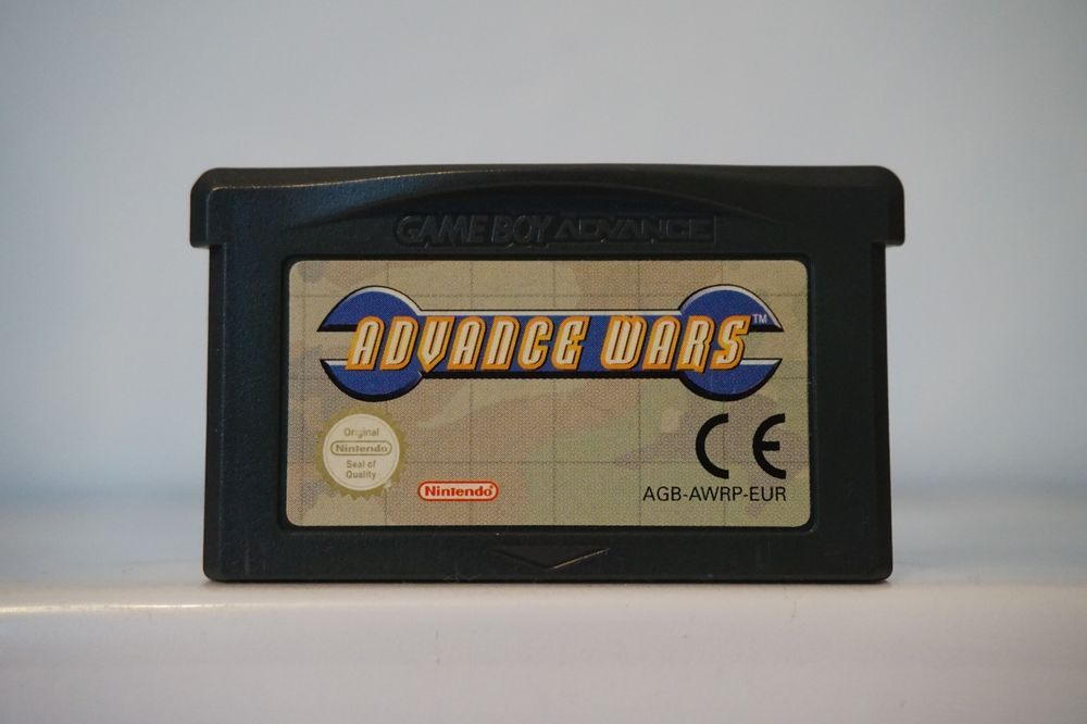Advance Wars Gameboy Nintendo Advance Game Boy Gba Original Genuine Advancewars Advance Wars Gameboy Gba