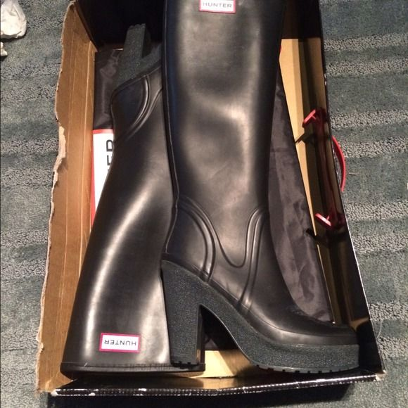 lace up hunter boots womens