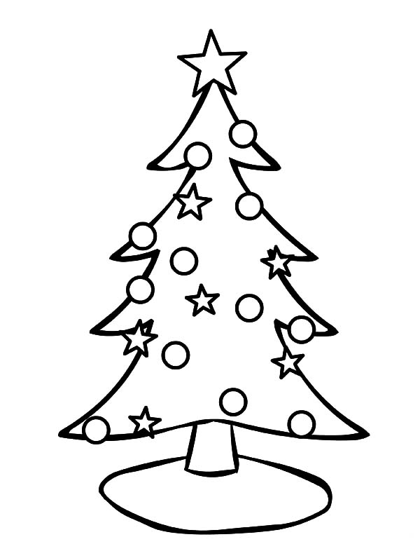 Pin by Pam on Coloring pages Christmas tree coloring
