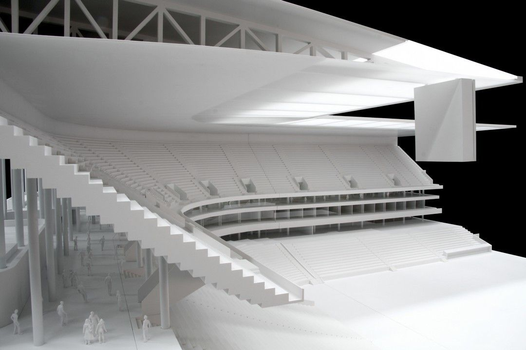 Herzog De Meuron Stadion Bordeaux 3956 08 Jpg Architekturmodell Architektur Haus Design Stadion