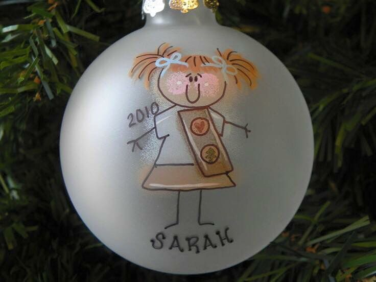 Girl Scout ornament
