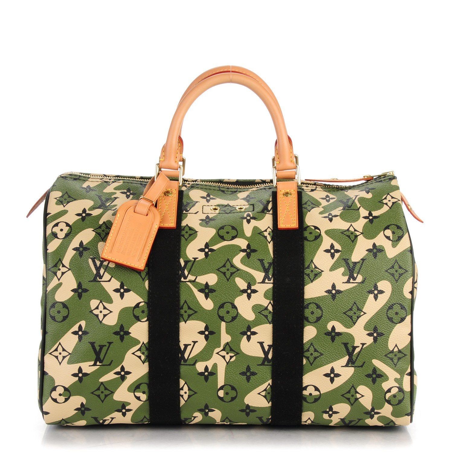 a9b9bed0e436 This is an authentic LOUIS VUITTON Monogramouflage Speedy 35. This stylish  limited edition tote is