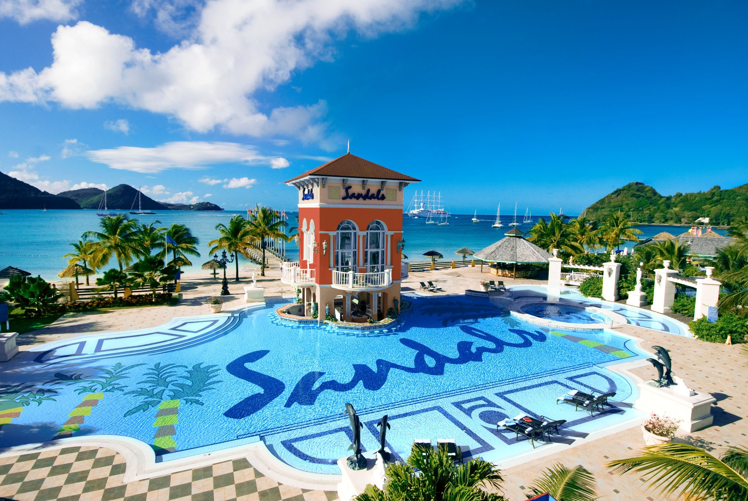 Image Detail For Sandals Grande St Lucian Spa Beach Resort Hotel England