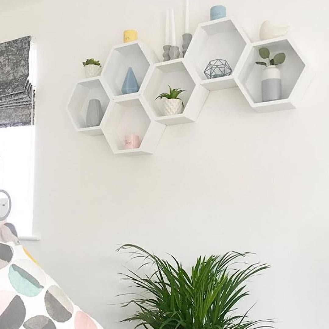 B&M hexagon shelves | Kitchen ideas | Pinterest | Shelves, Box ...