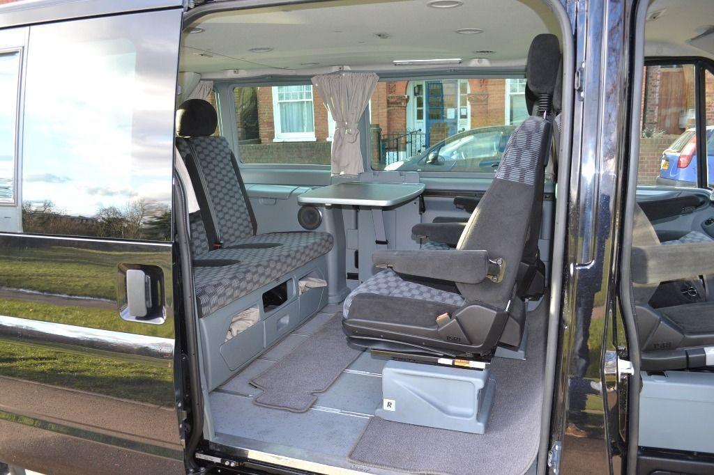 2013 Uk Registered Lhd Ford Transit Euroline Nugget Camper Van Bed Pack 7 Seater Westfalia Day Van Campervans Caravans Ford Transit Day Van Van Bed