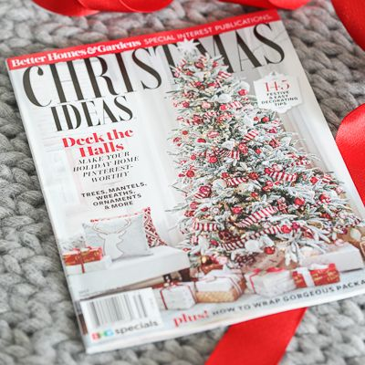 Enter To Win A Copy Of The 2017 Bhg Christmas Ideas Magazine Featuring Inspiredbycharm Christmas Cheer Easy Easter Decorations Christmas Holidays