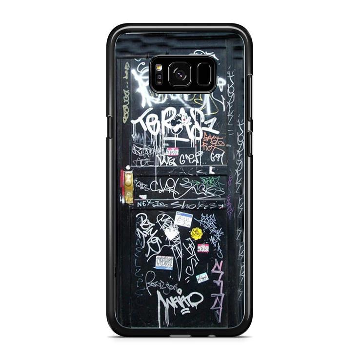 Graffiti Door Samsung Galaxy S8 S8 Plus Case Caseades Galaxy S8 Samsung Galaxy Galaxy