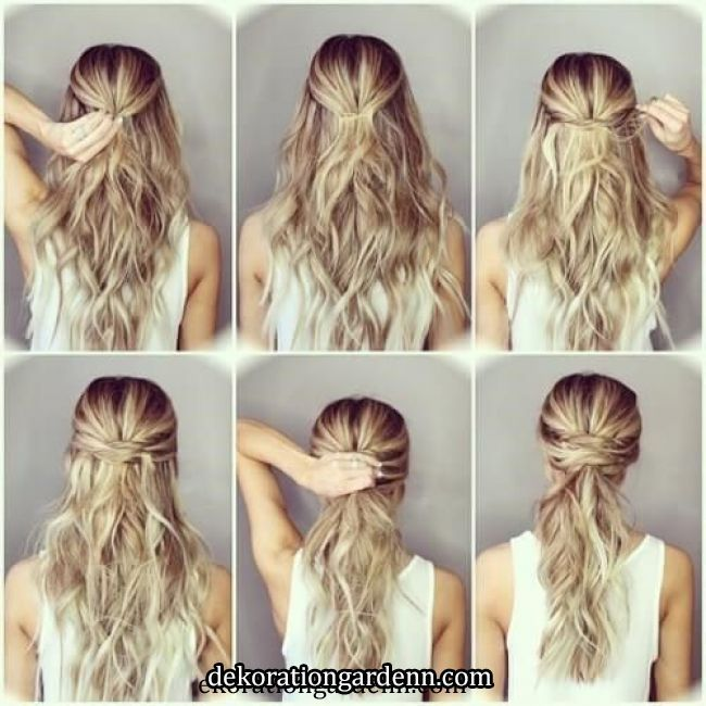 Simple Diy Hairstyles Everyday: Hairstyles Easy Step By Step DIY #hairstyles