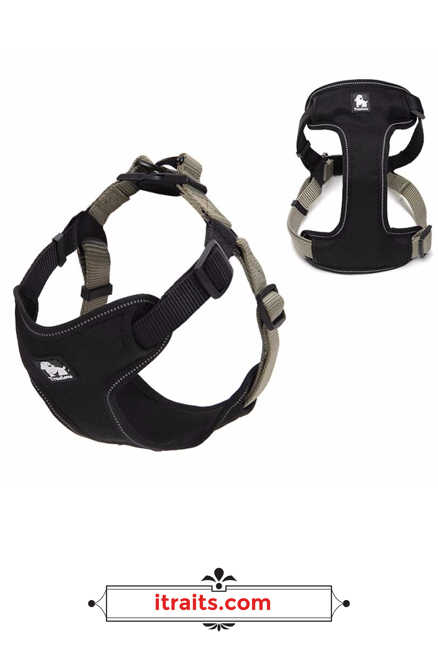 Dog Harness NoPull, Adjustable, Soft Padded with