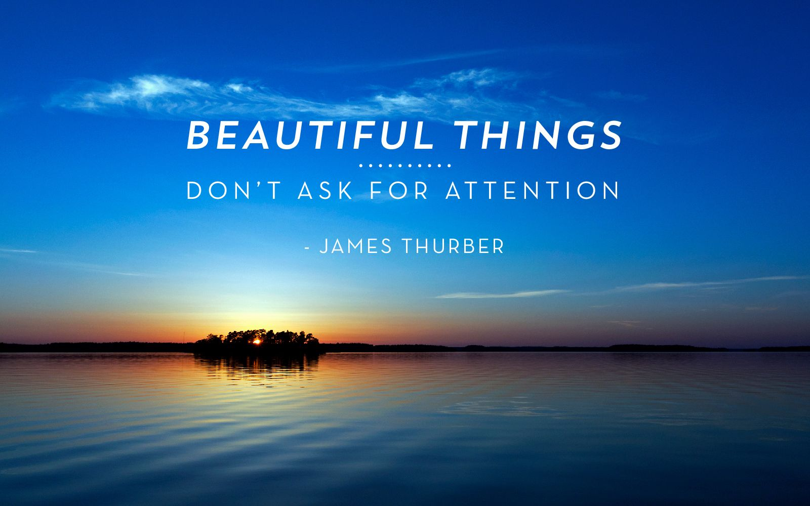 The Secret Life Of Walter Mitty Quote Hd Wallpapers Quot Beautiful Things Don T Ask For Attention Quot James Thurber