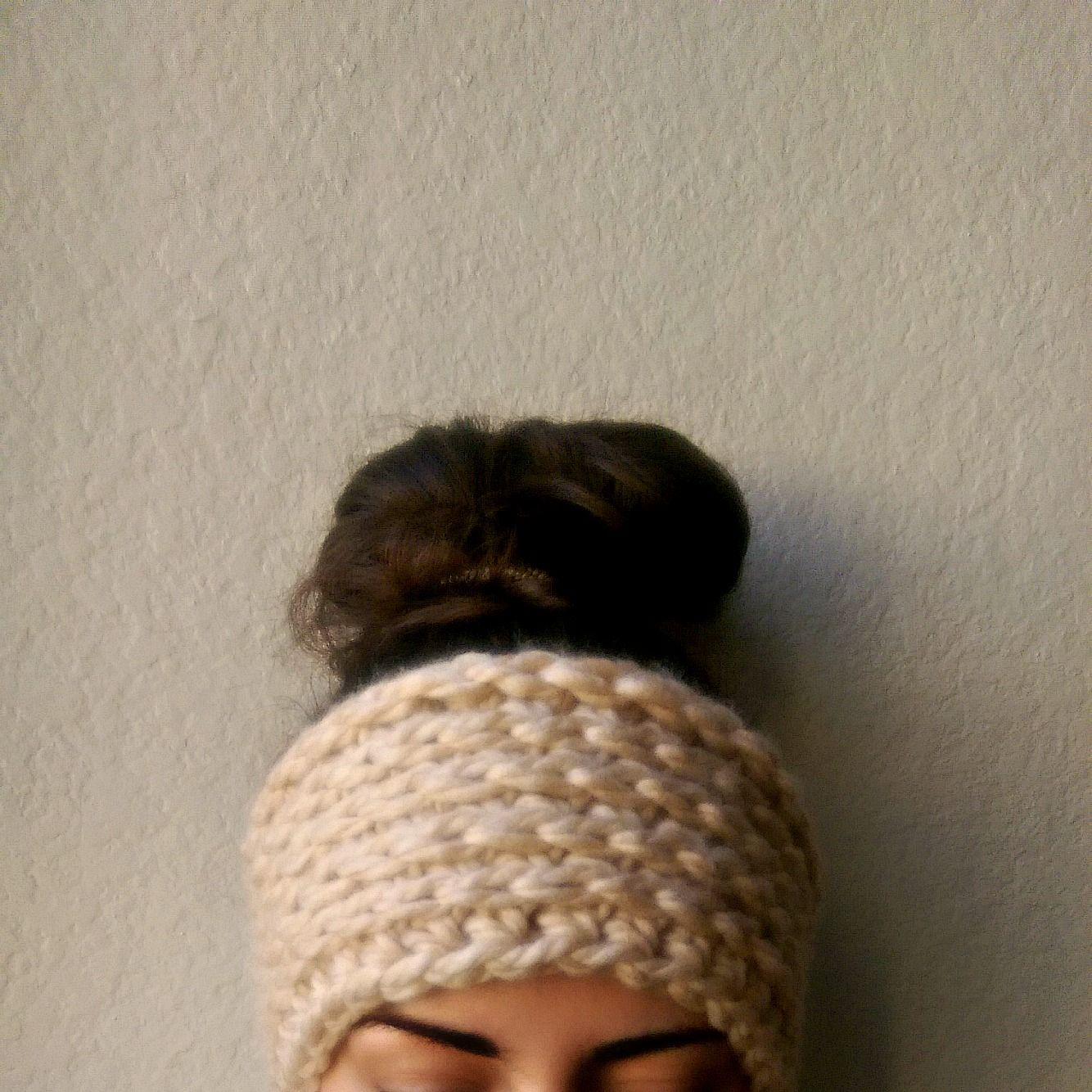Chunky Crochet Ear Warmer Pattern by MYandGG Camel stitch headband ...
