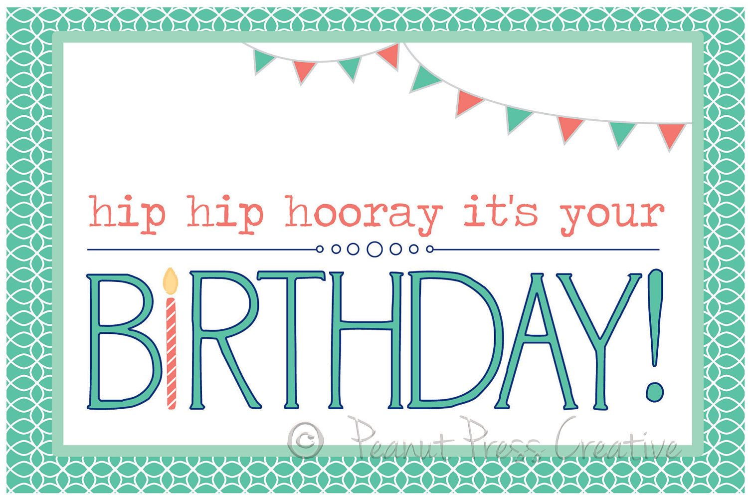 Simple Birthday Cards Printable ~ Printable birthday card google search happy printables pinterest