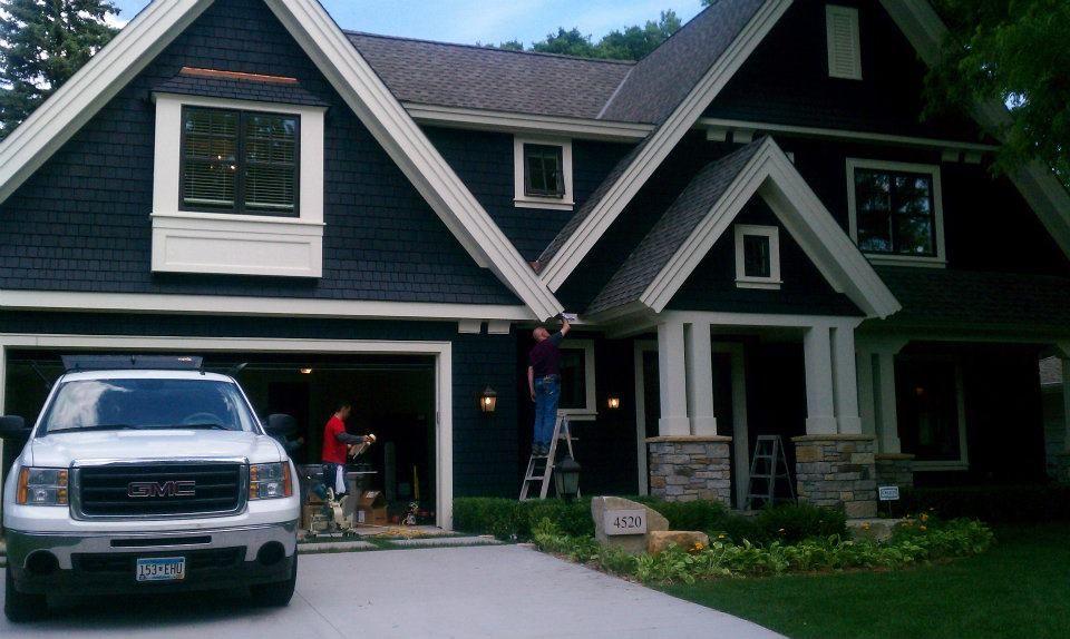 Best Dark Blue Siding Blue Siding House Siding White Siding 400 x 300