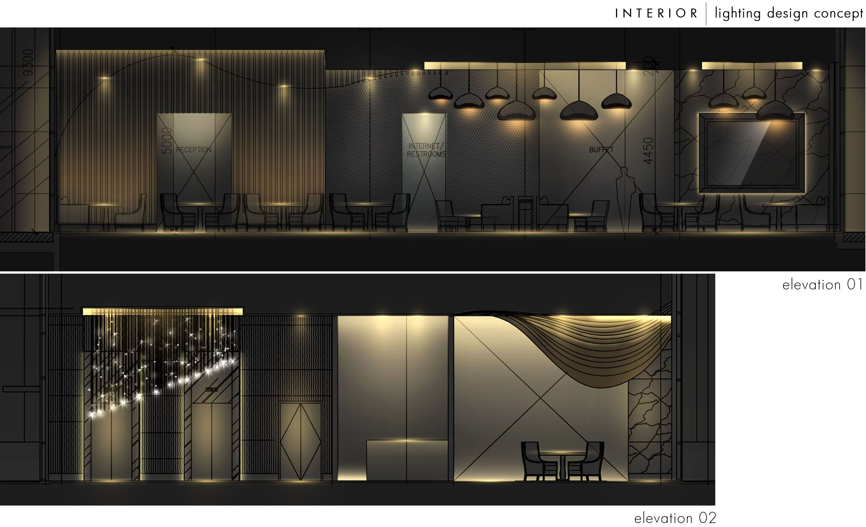 Interior lighting design by steven kurniawan at coroflot for Interior lighting design