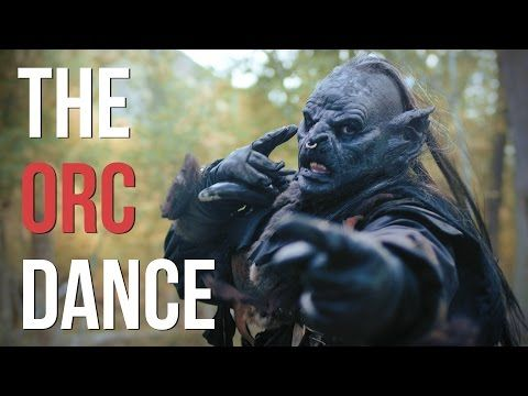 Lord of the Rings - The Orc Dance! (feat  Legolas) - 4K
